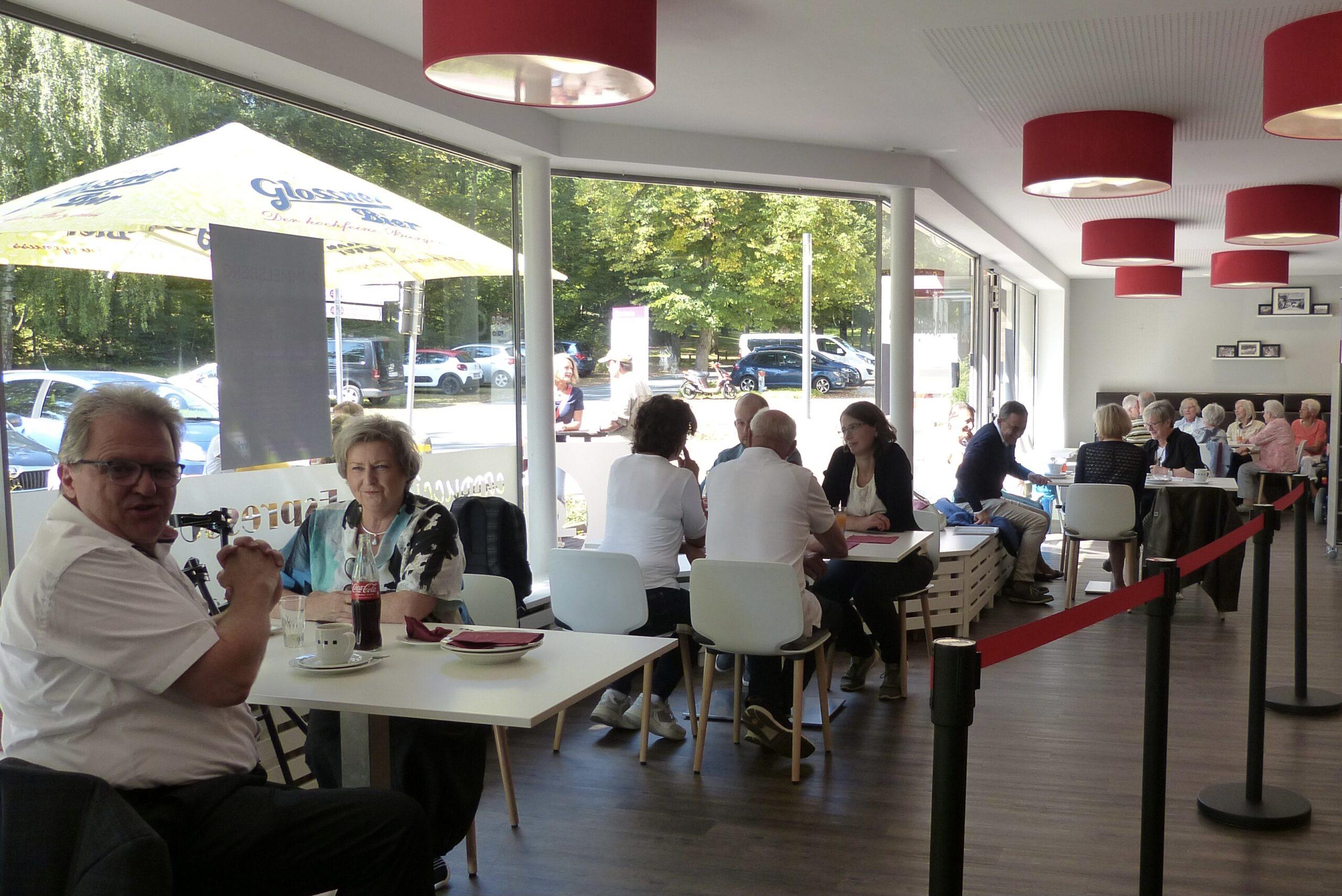 Das Rummelsberger Café ist geöffnet