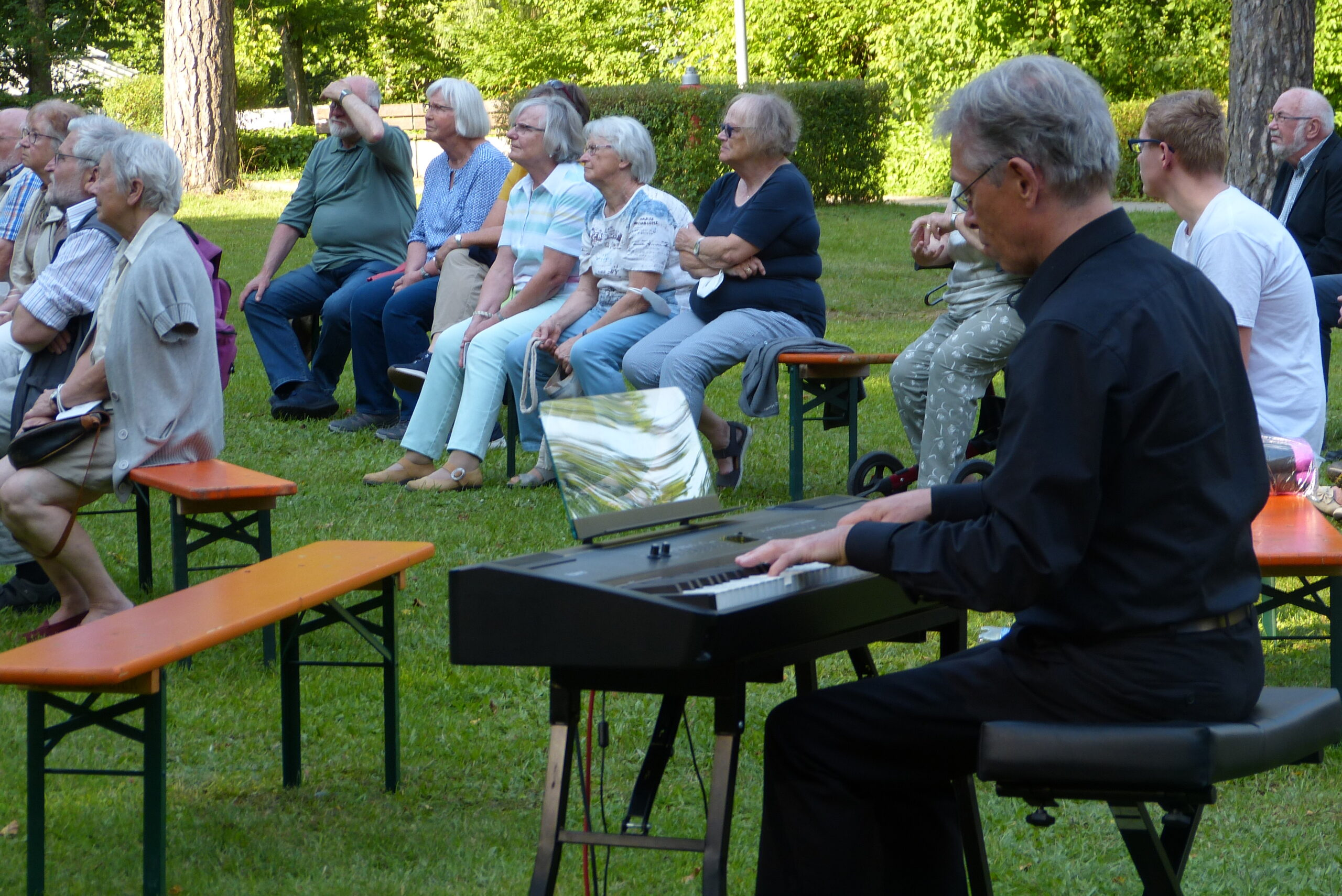 Stummfilm mit Live Pianobegleitung